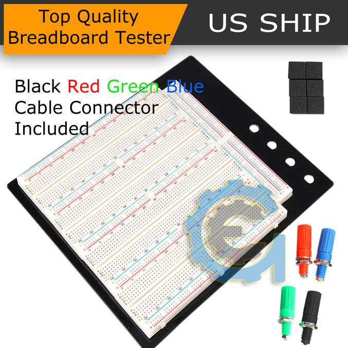 Solderless Breadboard Protoboard T//P Tie-point 3220 Hole DIY PCB Prototype Board
