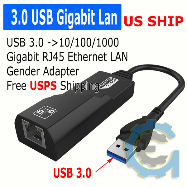 Value-5-Star 3 Port USB 3.0 HUB 10//100//1000 Mbps USB To RJ45 Gigabit Ethernet Wired Network Card LAN Adapter For Windows Mac OS