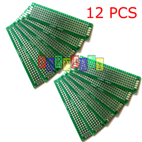 Double side copper prototype pcb universal board for arduino choice