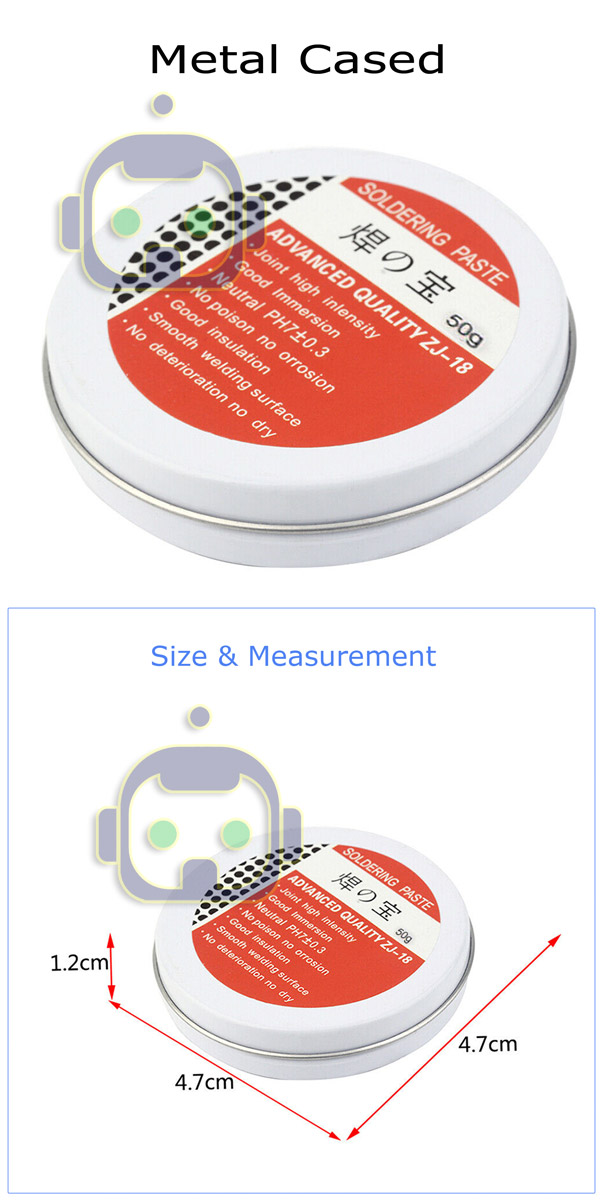 50g Rosin Soldering Flux Paste Solder Welding Grease Low-temperature Lead-f B1H5